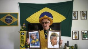 Neymaras dievinamas Brazilijoje