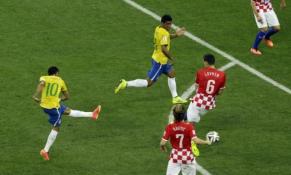 Pasaulio čempionatas: Brazilija 3-1 Kroatija