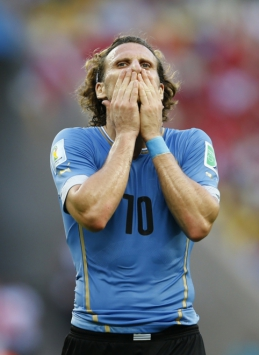 Pasaulio čempionatas: Urugvajus - Kosta Rika