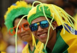 Pasaulio čempionatas: Brazilija 0-0 Meksika