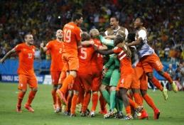 Pasaulio čempionato ketvirtfinalis: Olandija - Kosta Rika