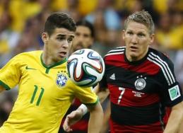 Pasaulio čempionato pusfinalis: Brazilija 1 - 7 Vokietija