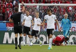 EURO 2016: Portugalija - Austrija