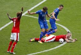 EURO 2016: Islandija - Austrija