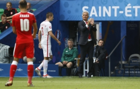 EURO 2016: Šveicarija - Lenkija