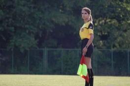POP: Lenkijoje - gražuolė futbolo teisėja