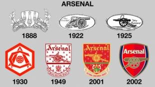 Kaip keitėsi garsių komandų logotipai