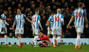 """Premier"" lyga: ""Man Utd"" - ""Huddersfield Town"""