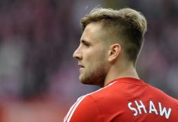 """""""Man Utd"""" už 30 mln. svarų įsigijo """"Southampton"""" gynėją L.Shaw"""