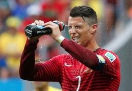 """C.Ronaldo: """"Braziliją paliekame aukštai pakelta galva"""""""