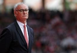 Graikijos rinktinę treniruos C.Ranieri