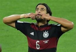 """BBC: """"Arsenal"""" atsisakė planų įsigyti S.Khedirą"""