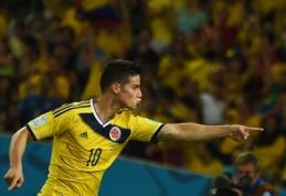 J.Rodriguezas - gražiausio pasaulio čempionato įvarčio autorius (VIDEO)