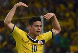 """""""Monaco"""" klube žaisti nebenorintis J.Rodriguezas už 80 mln. eurų atvyks į """"Real"""""""
