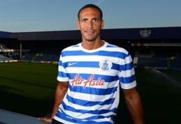 R.Ferdinandas pasirašė vienerių metų sutartį su QPR klubu