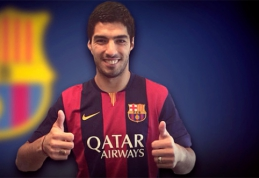 """FIFA neleidžia """"Barcelona"""" klubui rengti Luiso Suarezo pristatymo"""