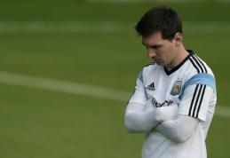 "J. Guardiola pakomentavo ""Man City"" galimybes įsigyti L. Messi"