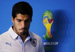 FIFA atmetė L.Suarezo apeliaciją - puolėjui sankcijos lieka tokios pačios
