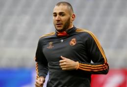 """K. Benzema siekia sugrįžti į """"Lyon"""" ekipą"""