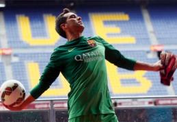 """""""Barcelona"""" naujokas C.Bravo: konkurencijos nebijau"""