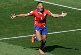"""Barcelona"" sutiko už 40 mln. eurų parduoti A.Sanchezą ""Arsenal"" klubui"