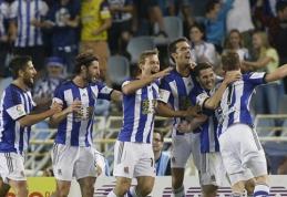 """""""Sociedad"""" iškovojo įspūdingą pergalę prieš """"Real"""", """"Barca"""" įveikė """"Villarreal"""" (VIDEO)"""