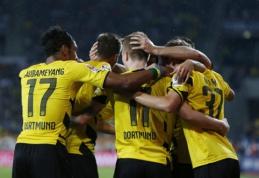 """""""Borussia"""" iškovojo pirmąją pergalę """"Bundesliga"""" pirmenybėse"""