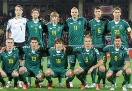 Lietuvos rinktinė atrankos ciklą pradės patikrinta sudėtimi