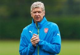 Wengeras: Oxlade'as-Chamberlainas gali būti kaip Zidane'as ir Beckhamas