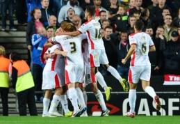 """""""Man Utd"""" buvo gėdingai sutriuškintas """"Capital One Cup"""" turnyre (VIDEO)"""