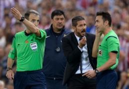 D.Simeone - aštuonerių rungtynių diskvalifikacija