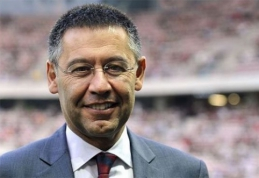 """Ispanijoje """"Barcelona"""" prezidentas labiausiai prisibijo """"Atletico"""" ekipos"""