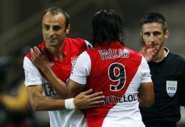 """R.Falcao įvartis lėmė """"Monaco"""" klubo pergalę, """"Lyon"""" pralaimėjo namuose"""