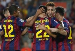 """""""Barcelona"""" """"Primera"""" pirmenybes pradėjo lengva pergale"""