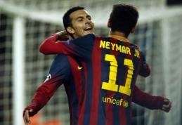 """Pedro ir Neymaras greičiausiai praleis pirmąsias """"Primera"""" rungtynes"""