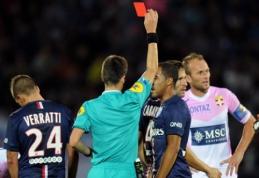 """Dešimtyje rungtynes baigęs PSG sužaidė be įvarčių su """"Evian"""" ekipa"""