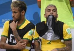 """D.Alvesas: """"Žinau, jog klube buvo abejonių manimi"""""""