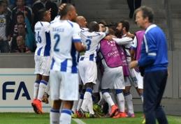 """Čempionų lygos atrankoje - """"Porto"""" ir """"Zenit"""" pergalės išvykoje ir L.Spalvio klubo lygiosios su Kipro atstovais"""