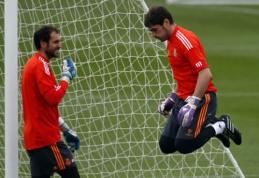 D.Lopezas: visi žino, kad esu geresnis už I.Casillasą