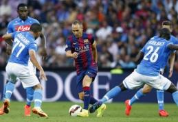 """""""Barcelona"""" pralaimėjo """"Napoli"""" ekipai, """"Atletico"""" neįveikė turkų (VIDEO)"""