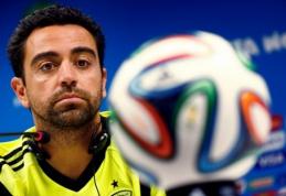 Xavi baigia karjerą Ispanijos rinktinėje