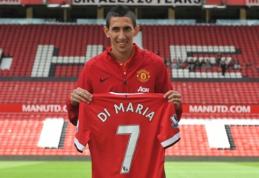 """A.Di Maria neketina žaisti """"Man Utd"""" komandoje iki karjeros pabaigos"""