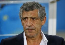 Portugalijos rinktinę treniruos patyręs Fernando Santosas