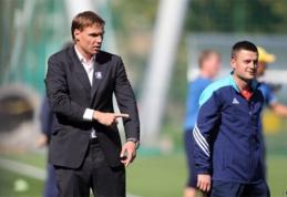 Prieš taurės turnyrą E.Jankauskas veja šalin mintis apie blogiausią scenarijų