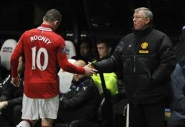 W. Rooney: Fergusonas – geriausias treneris