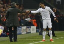 J. Mourinho apkaltino C. Ronaldo dėl 2012-ųjų nesėkmės Čempionų lygoje