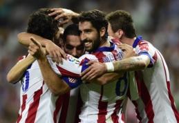"""""""Atletico"""" nugalėjo """"Real"""", """"Barca"""" namuose palaužė """"Athletic""""  (VIDEO)"""