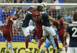Draugiškose rungtynėse prancūzai nugalėjo ispanus, italai - olandus