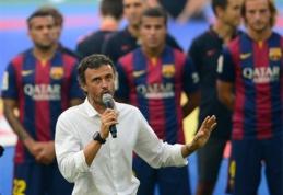 """J.Guardiola: L.Enrique gali pranokti mane """"Barcelona"""" ekipoje"""
