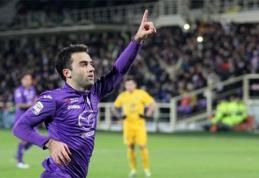"""""""Fiorentina"""" puolėjui G.Rossi bus atlikta kelio operacija"""